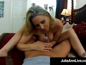 Milf Sex Queen Julia Ann Fucks Her Trick On Voyeur Spy Cam!