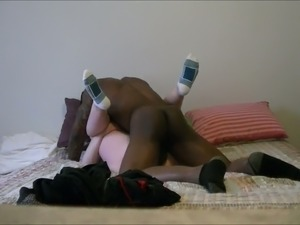 My lusty wife cheats on me with some black dude when I am at work