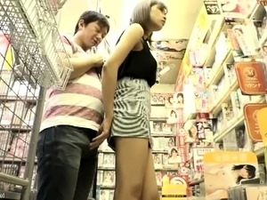 Buxom Japanese wife satisfies her need for cock in public