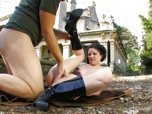 Adorable Teen Amateur Stripping Down In Public