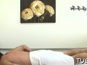 Favourable dude endures the way sex gets united with massage