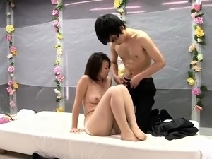 Delightful Japanese ladies getting nailed hard in public