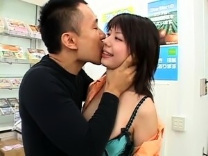 Kinky Japanese girls indulge in wild sex action in public