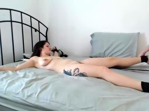 Sexy babe foot armpit lick fetish femdom