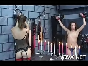 Amateur servitude with hot girls