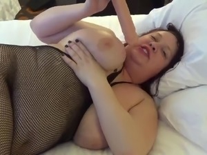 BBW dirty talk and toy