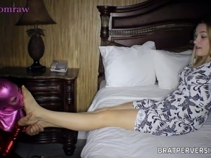 Pantyhose Freaks: Her First Time