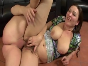 Hot milf with hairy pussy!