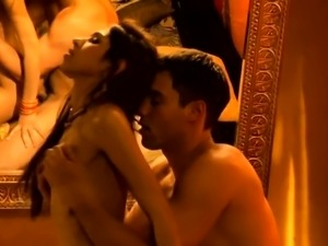 Exotic Lovers In The Indian Bath
