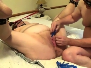 Helpless amateur granny has a passion for pain and pleasure