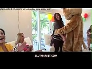 Gang bang with DancingBear and wild bitches