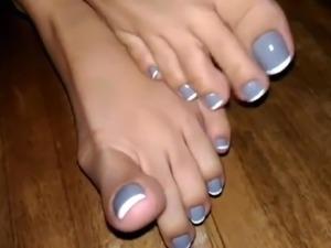 Beautiful Pedicured Toes & Feet