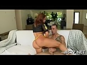 Big curves excite dude, so he begins fucking our babe hard