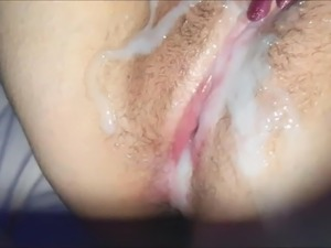amateur cumshot on pussy compilation - girls and boys