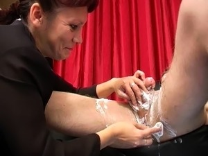 Hot cumshot for amateur fetish mature stockings slut