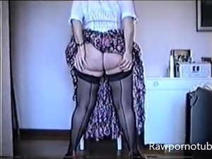 Mature Gran Solo Girl Masturbation With Toys
