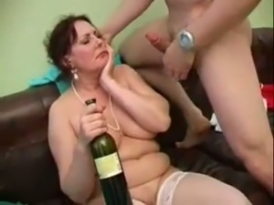 My neighbor's German wife gives a good blowjob and she is good at fucking