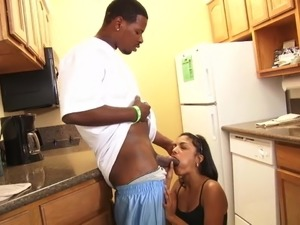 Neela Sky fucks a black guy