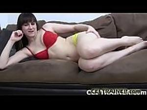I make sluts like you eat their own cum CEI