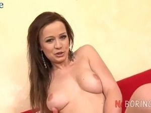 Lustful toy addicted nympho with rounded ass Monica loves hard analfuck
