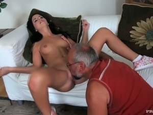 Jessyka Swan fucks her friend's grandpa