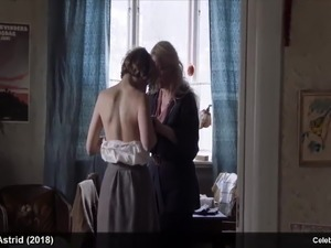 Celebrity Alba August Topless And Sexy Movie Scenes