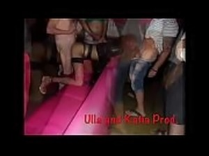 Gang-bang in porn cinema with Ulla Spicy