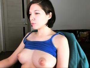 Cute russian cam girl puffy nipples