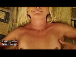 irish MILF POV Smoking Sucking and Fucking