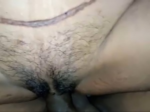 Indian Wife Pussy and Ass Fucked and got Creampie Inside Ass