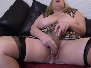 Hot Blonde Mature Pawg Teasing Black Cock. Milf BBW Busty