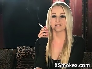 Humble Girl Smoking Wild XXX