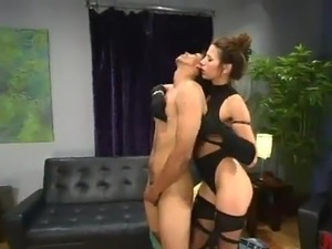Franco has His asshole Beaten By Kym Wilde inside the Cute masochism performance