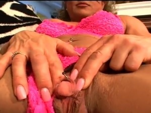 Huge clit masturbated like a penis