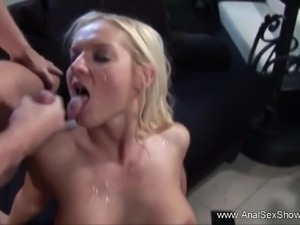 Beautiful Ass Anal Sex Blonde MILF