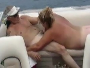 BBW Mature Granny Wife Shared By Husband on his boat